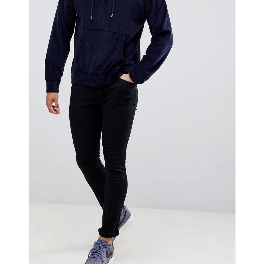 ヒューゴ ボス HUGO メンズ ジーンズ・デニム ボトムス・パンツ【734 skinny fit jeans in black】Black