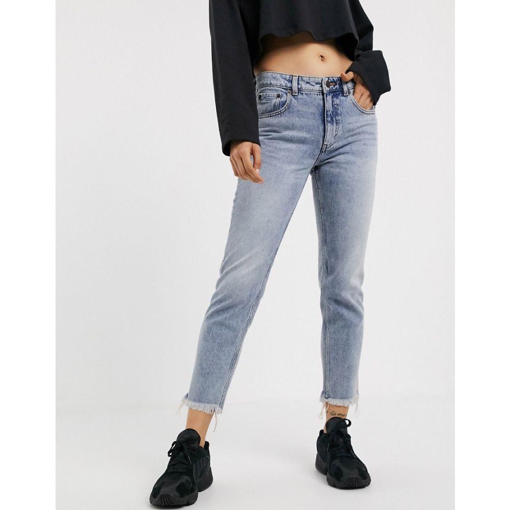チープマンデー Cheap Monday レディース ジーンズ・デニム ボトムス・パンツ【straight leg jeans】Blue