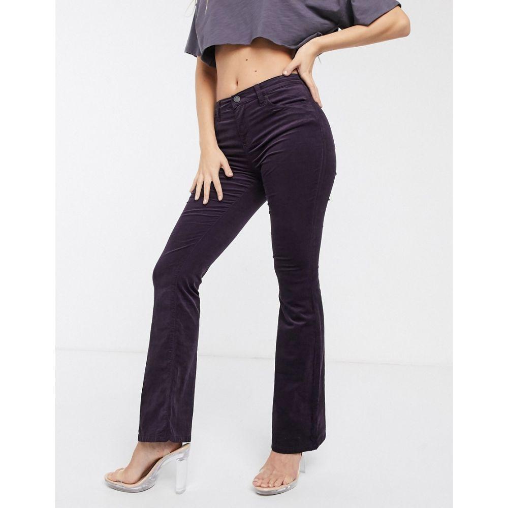 ブランクニューヨーク BLANK NYC レディース ジーンズ・デニム ボトムス・パンツ【Blank NYC Breakfast at Freds flared jeans】Aubergine
