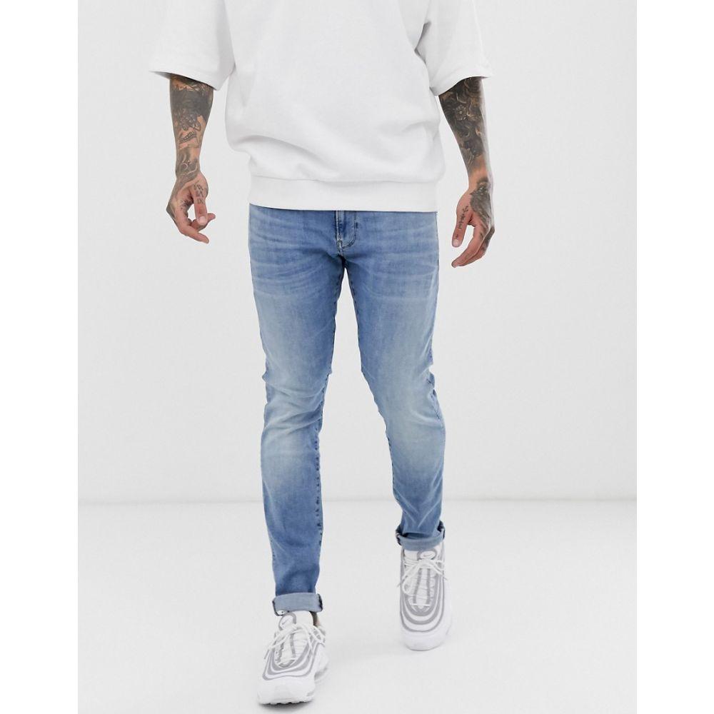 ジースター ロゥ G-Star メンズ ジーンズ・デニム ボトムス・パンツ【skinny fit jeans in light aged】Blue