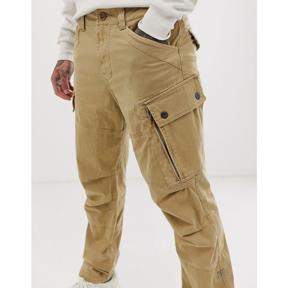 ジースター ロゥ G-Star メンズ カーゴパンツ ボトムス・パンツ【Roxic cargo trousers in stone】Stone