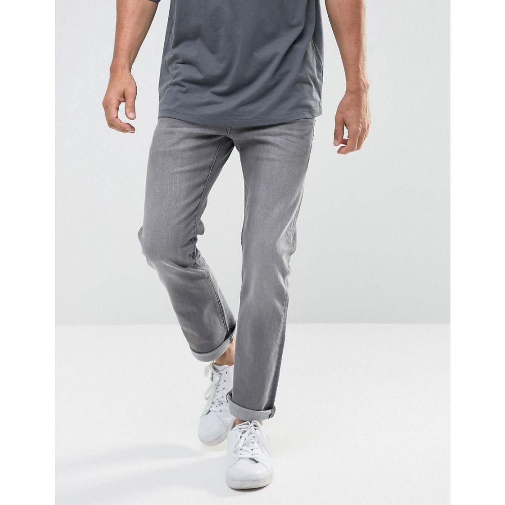 ジースター ロゥ G-Star メンズ ジーンズ・デニム ボトムス・パンツ【Revend Straight Jeans】Grey
