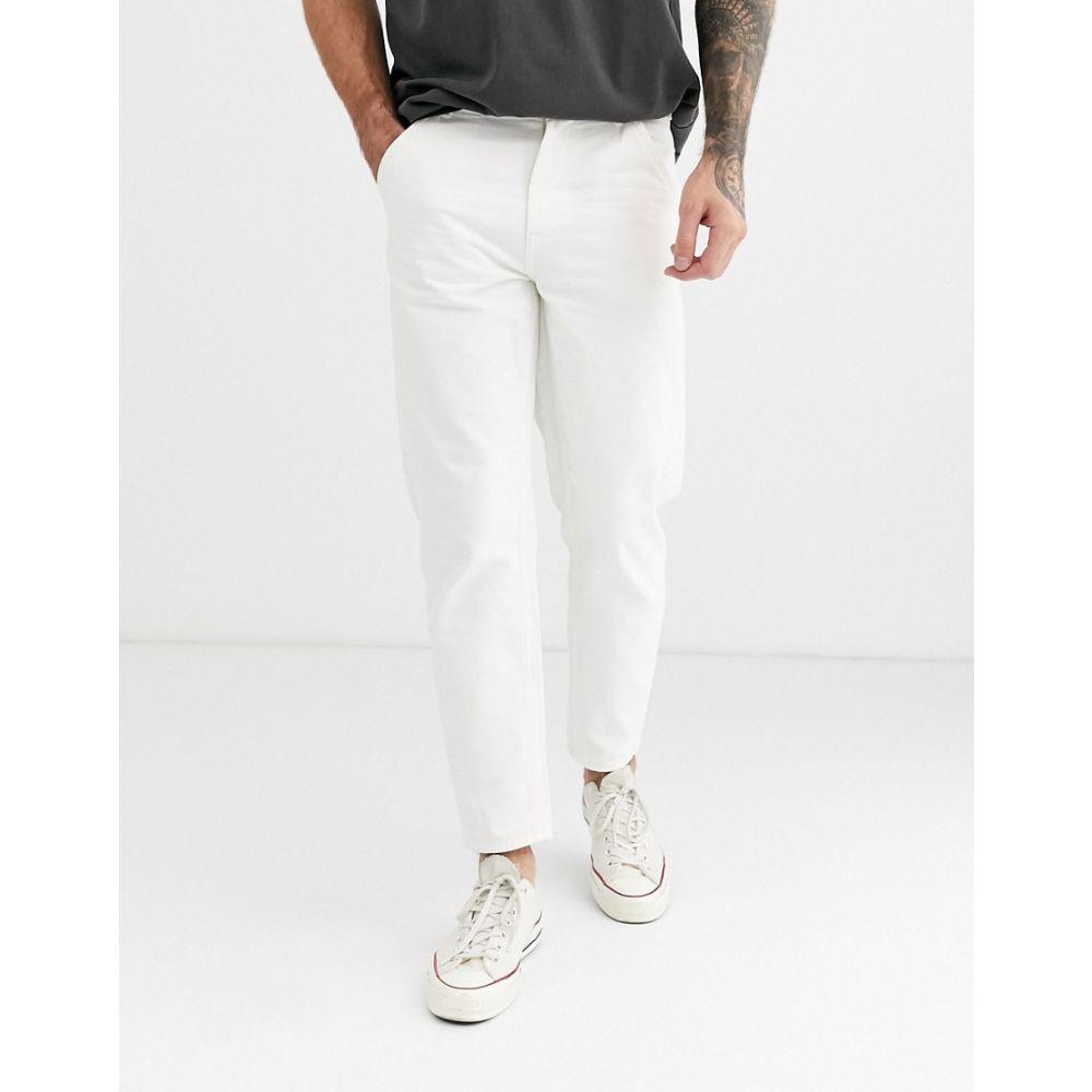 セリオ Celio メンズ ボトムス・パンツ 【worker trousers in white】White