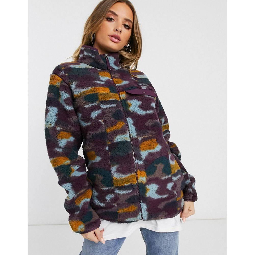 コロンビア Columbia レディース スキー・スノーボード マウンテンジャケット ジャケット アウター【Mountain Side Heavy ski jacket in purple】Purple