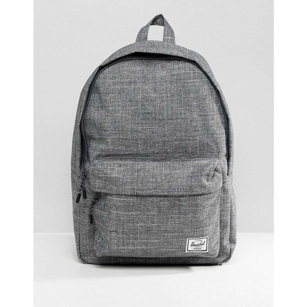 ハーシェル サプライ Herschel Supply Co メンズ バックパック・リュック バッグ【Classic backpack in Crosshatch】Grey