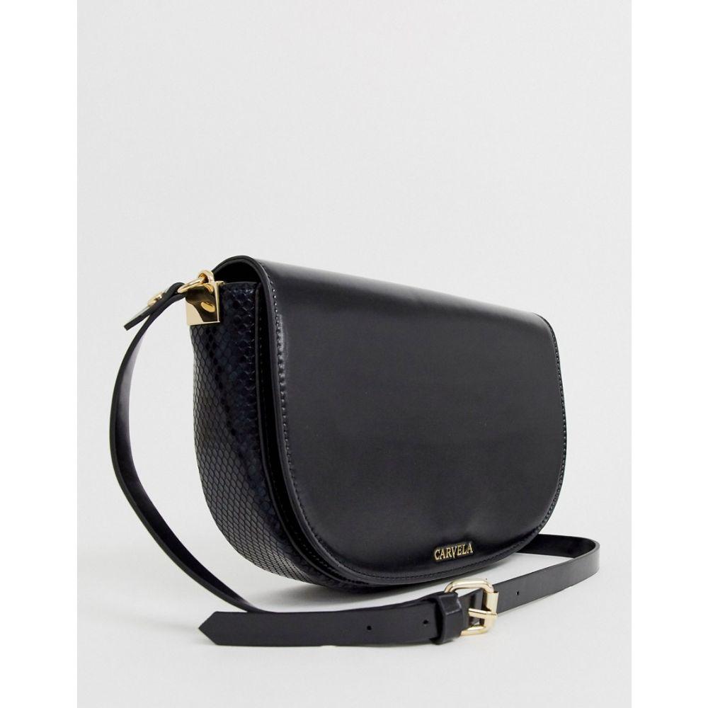 カーベラ Carvela レディース バッグ 【Echo saddle bag in black】Black