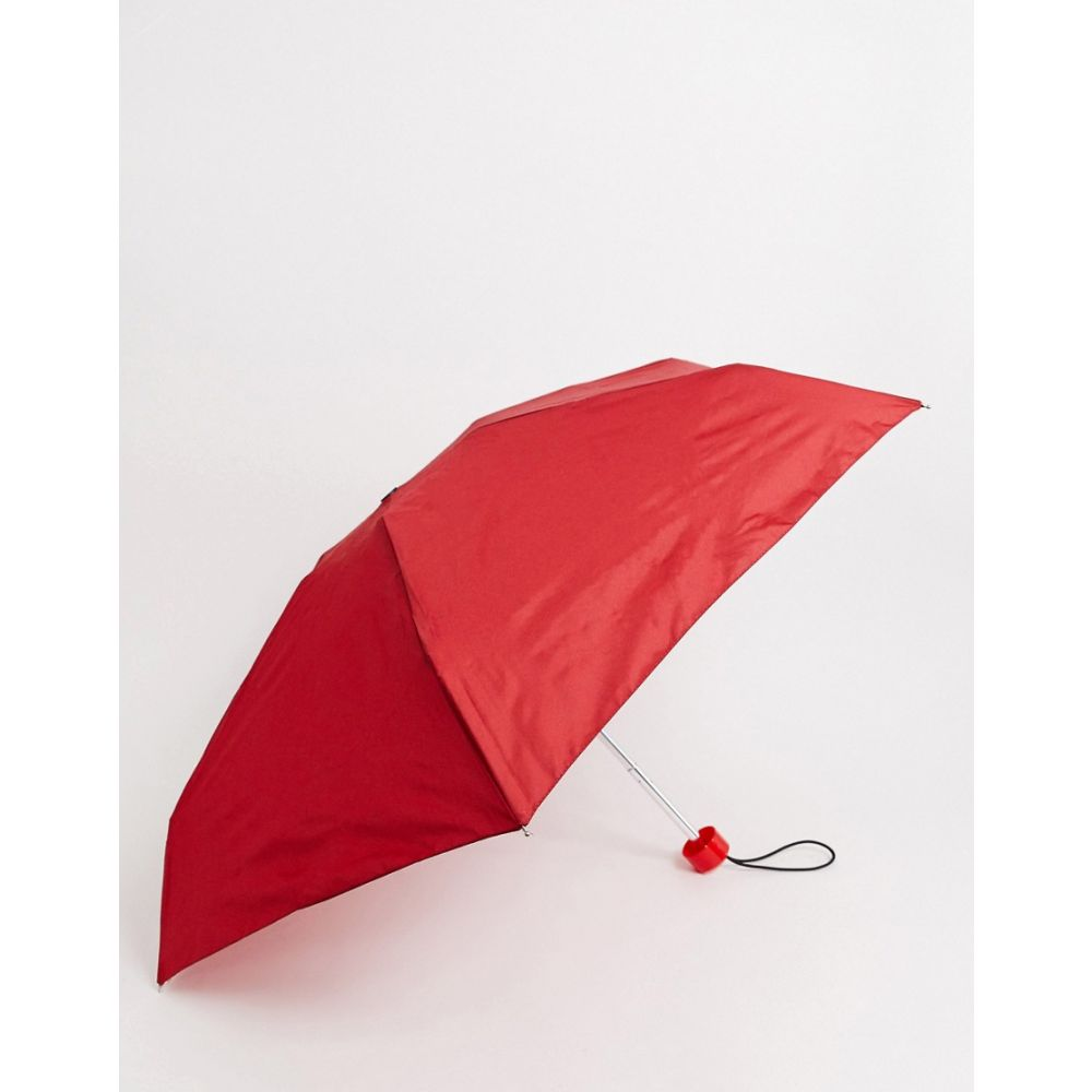 ハンター Hunter レディース 傘 【original Mini Compact Umbrella】Red