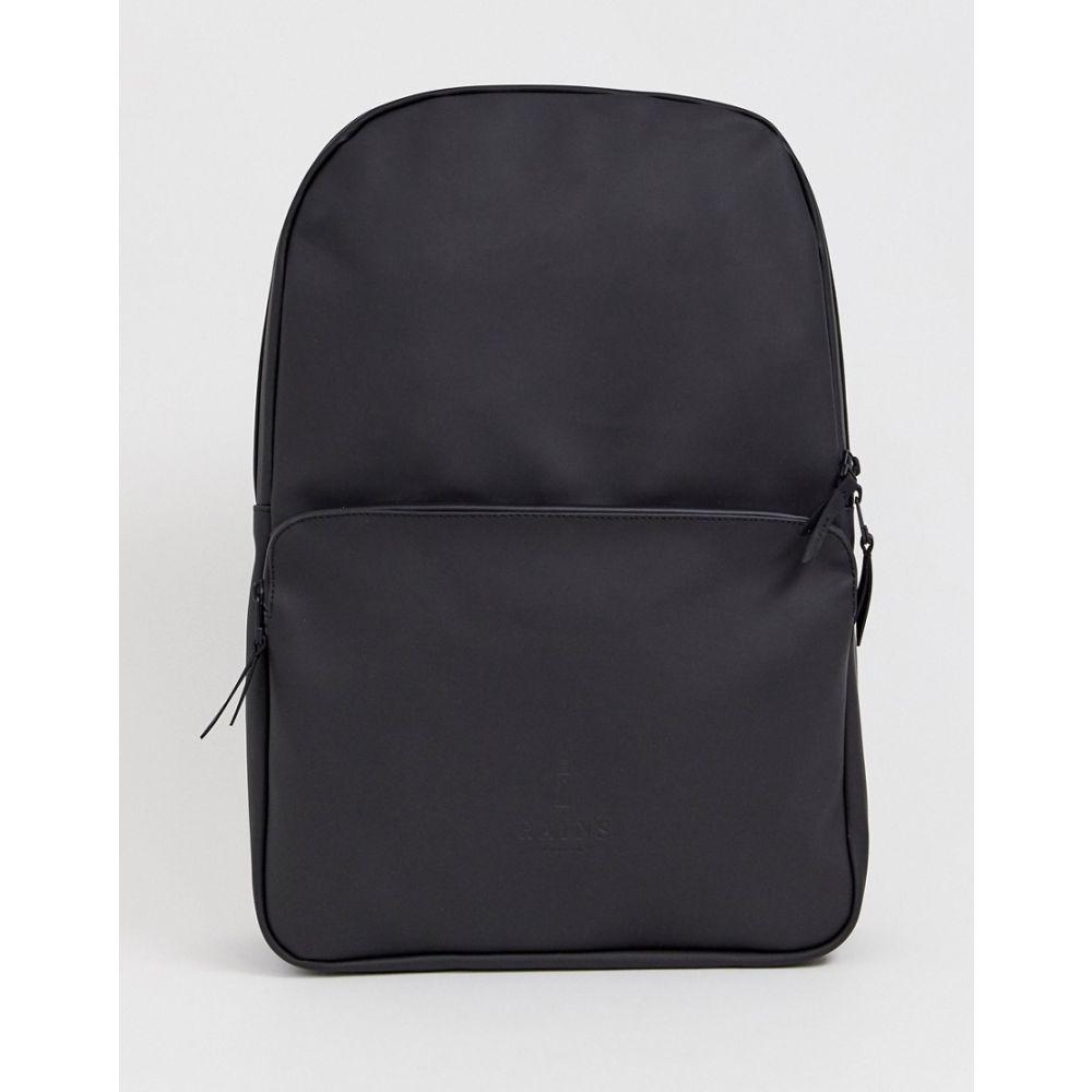 レインズ Rains メンズ バックパック・リュック バッグ【1284 Field waterproof backpack in black】Black