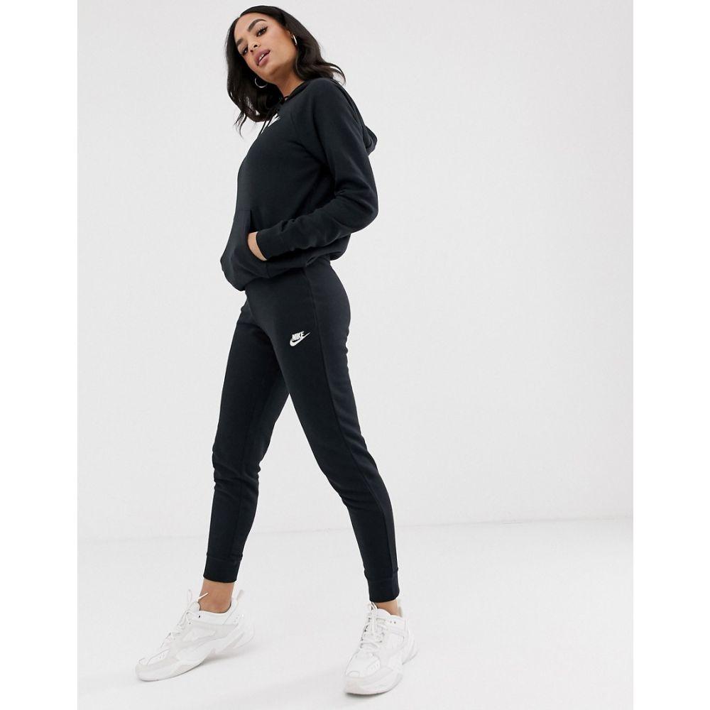 ナイキ Nike レディース ジョガーパンツ ボトムス・パンツ【Black Essentials Slim Joggers】Black/white