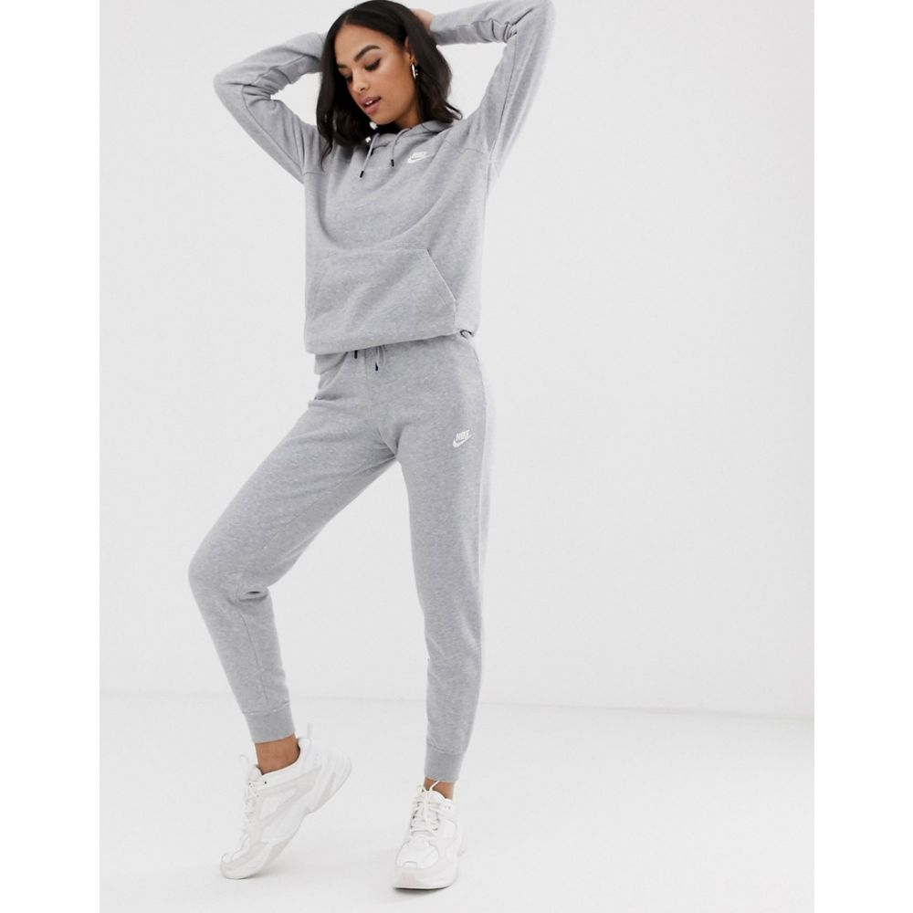 ナイキ Nike レディース ジョガーパンツ ボトムス・パンツ【grey essentials slim joggers】Grey heather/white