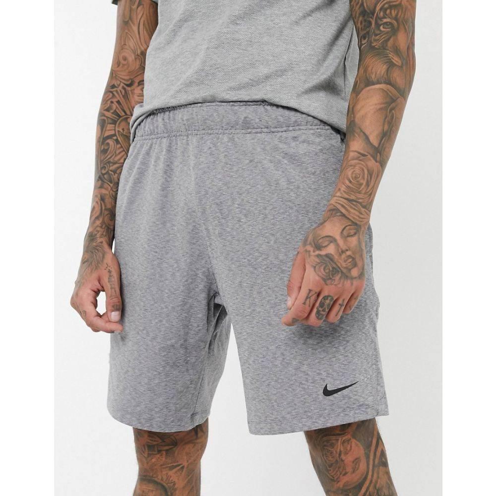 ナイキ Nike Training メンズ ヨガ・ピラティス ショートパンツ ボトムス・パンツ【Nike Yoga shorts in grey】Grey