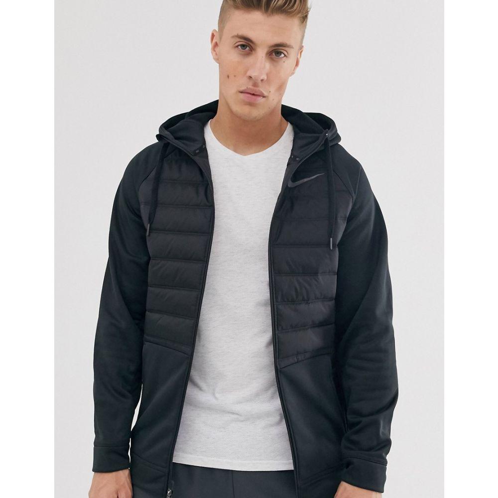 ナイキ Nike Training メンズ ジャケット アウター【therma zip-up jacket with quilted body】Black
