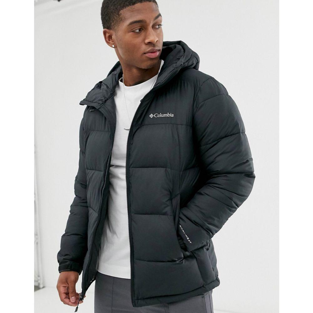 コロンビア Columbia メンズ ジャケット フード アウター【Pike Lake hooded jacket in black】Black