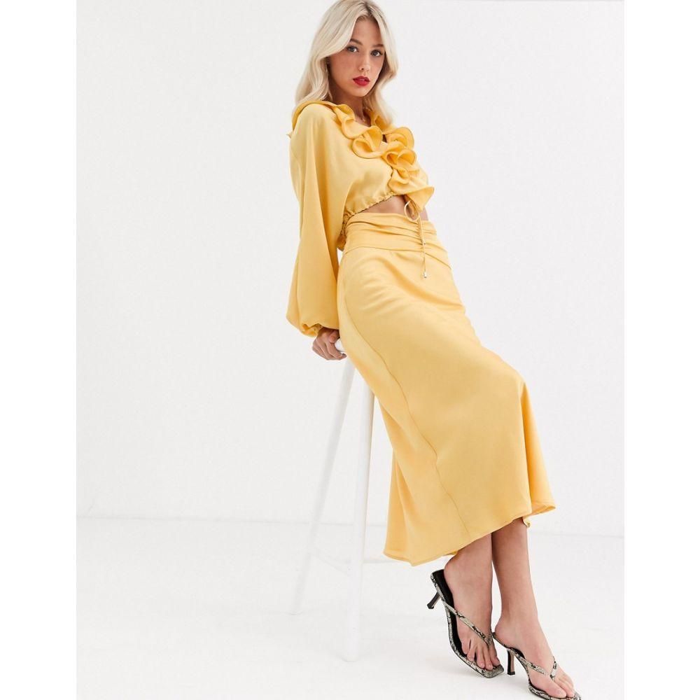 カメオ C/meo Collective レディース スカート 【C/Meo Collective knowing of this co-ord skirt】Butter