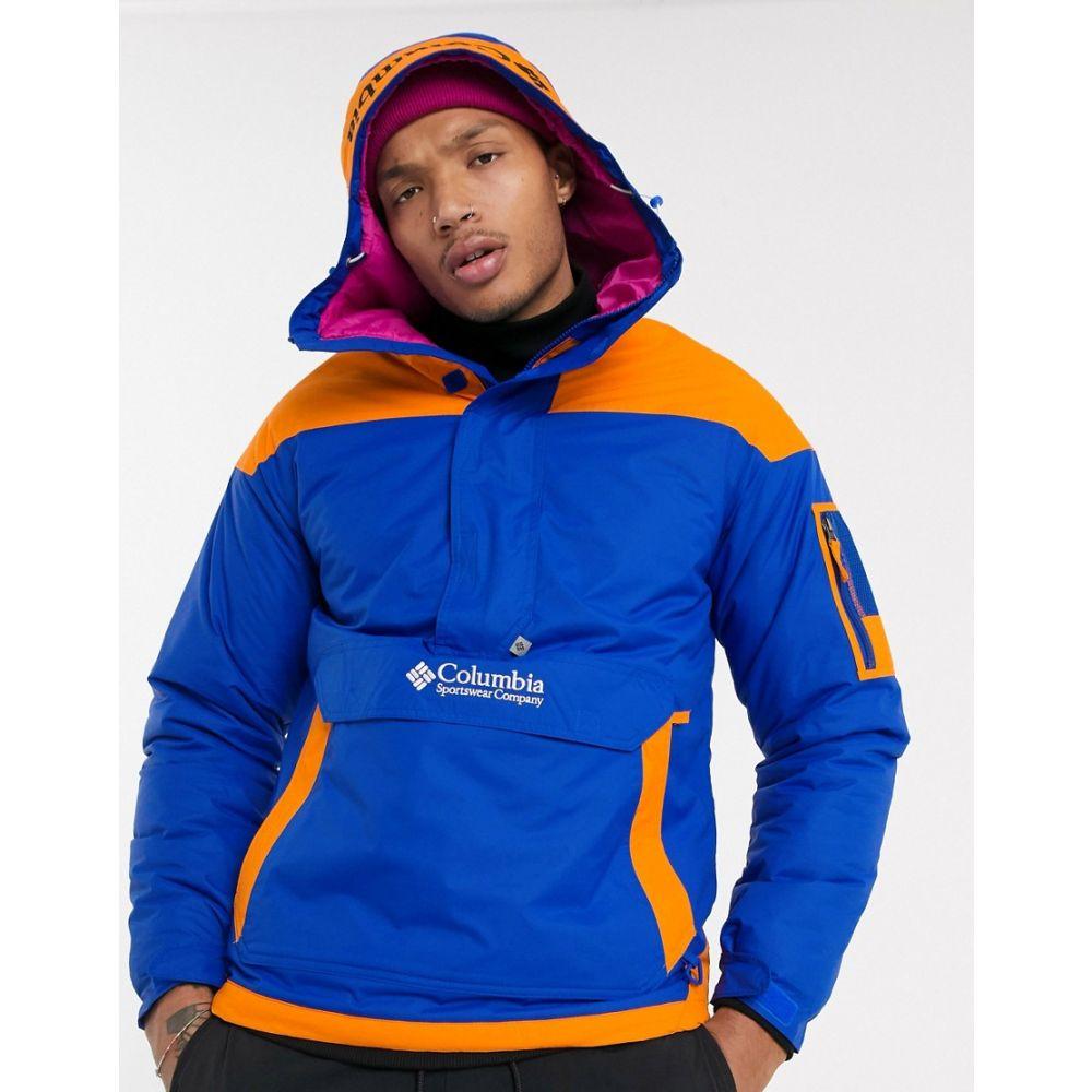 コロンビア Columbia メンズ ジャケット アウター【Challenger pullover jacket in blue Exclusive at ASOS】Blue