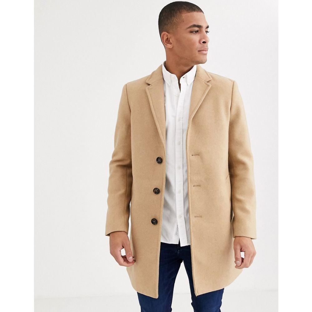 トムテイラー Tom Tailor メンズ コート アウター【smart overcoat in wool light camel】Camel