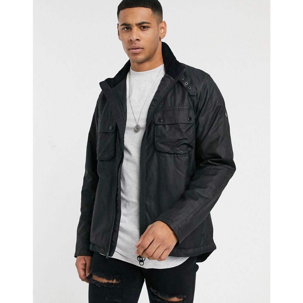 バブアー Barbour International メンズ ジャケット アウター【Tennant wax jacket in black】Black