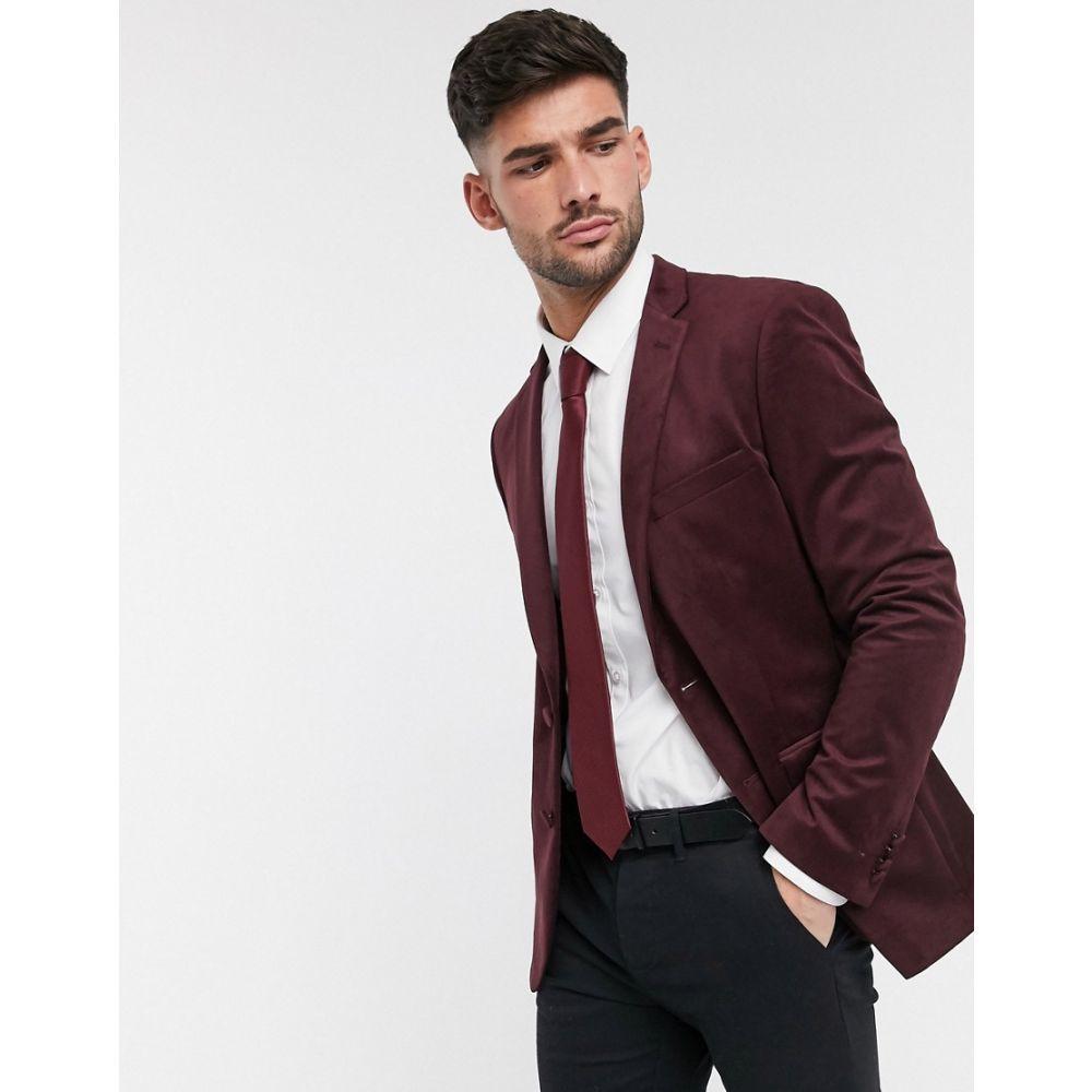 フレンチコネクション French Connection メンズ ジャケット アウター【velvet slim fit peak lapel jacket】Chateaux