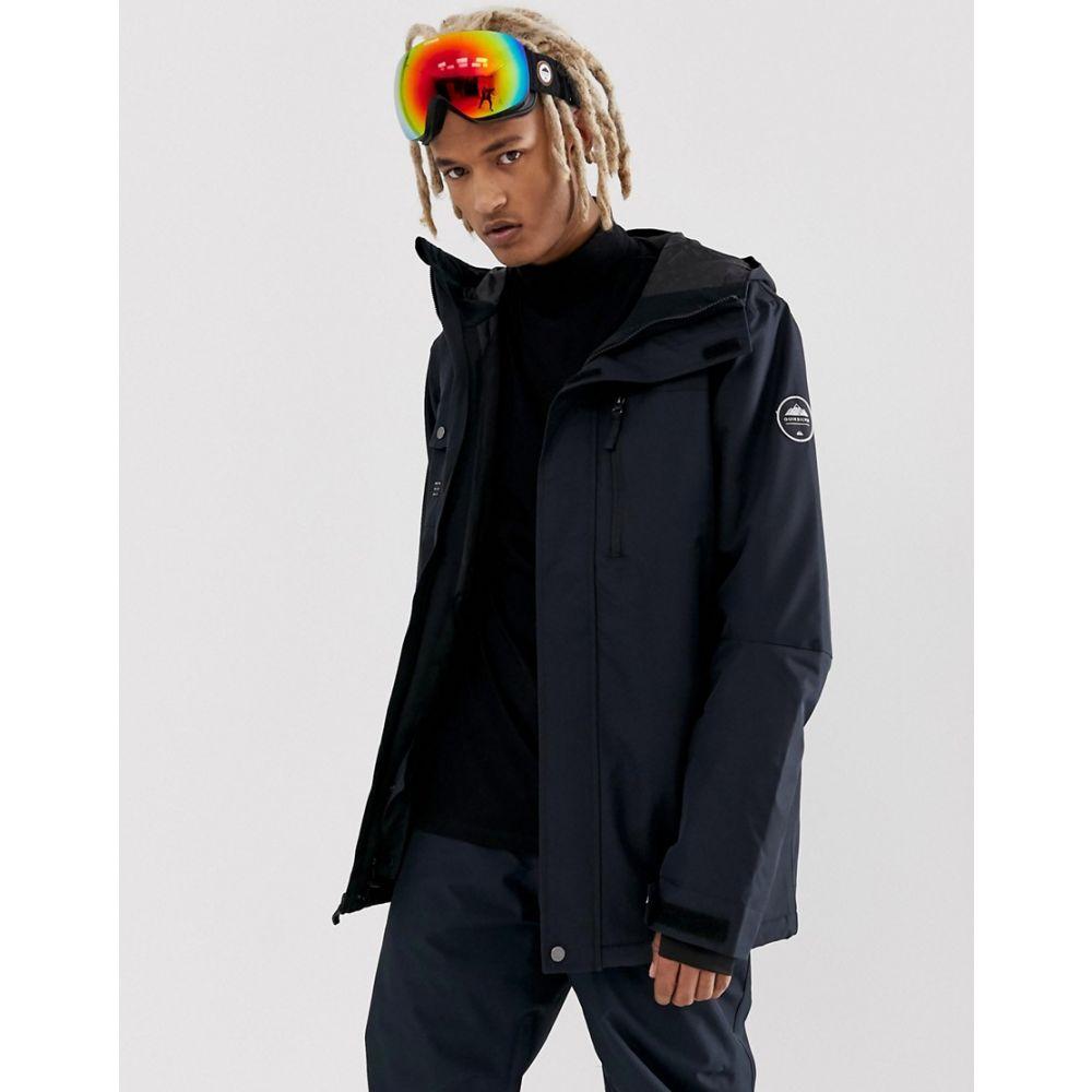 クイックシルバー Quiksilver メンズ スキー・スノーボード ジャケット アウター【Mission Ski jacket in black】Black