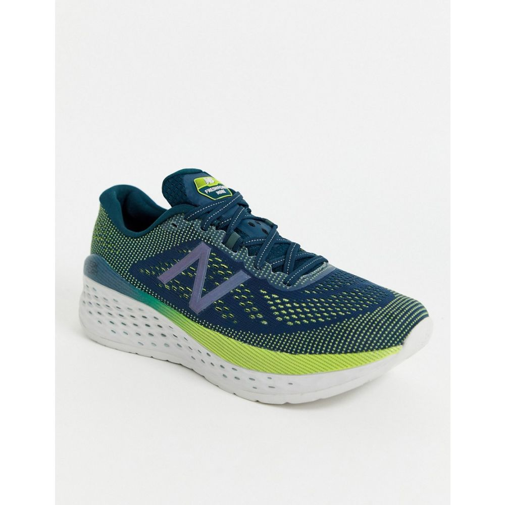 ニューバランス New Balance メンズ ランニング・ウォーキング シューズ・靴【Running Fresh Foam More trainers in green】Green
