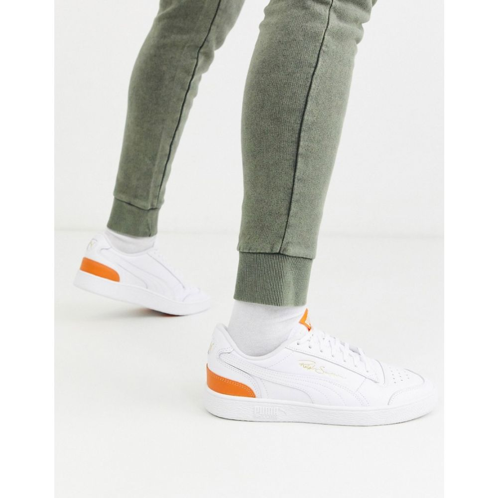 プーマ Puma メンズ スニーカー シューズ・靴【Ralph Sampson trainers in white & orange】White/orange