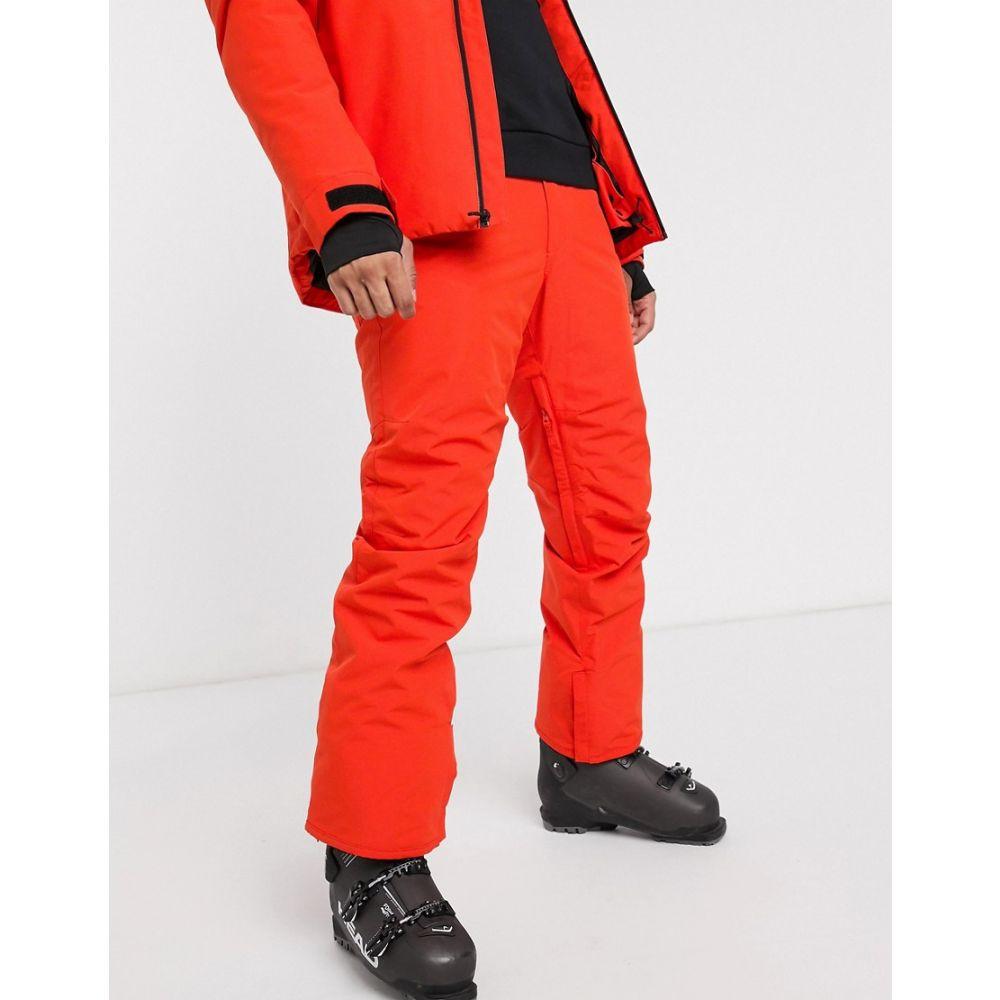 クイックシルバー Quiksilver メンズ スキー・スノーボード ボトムス・パンツ【Estate ski pant in orange】Orange