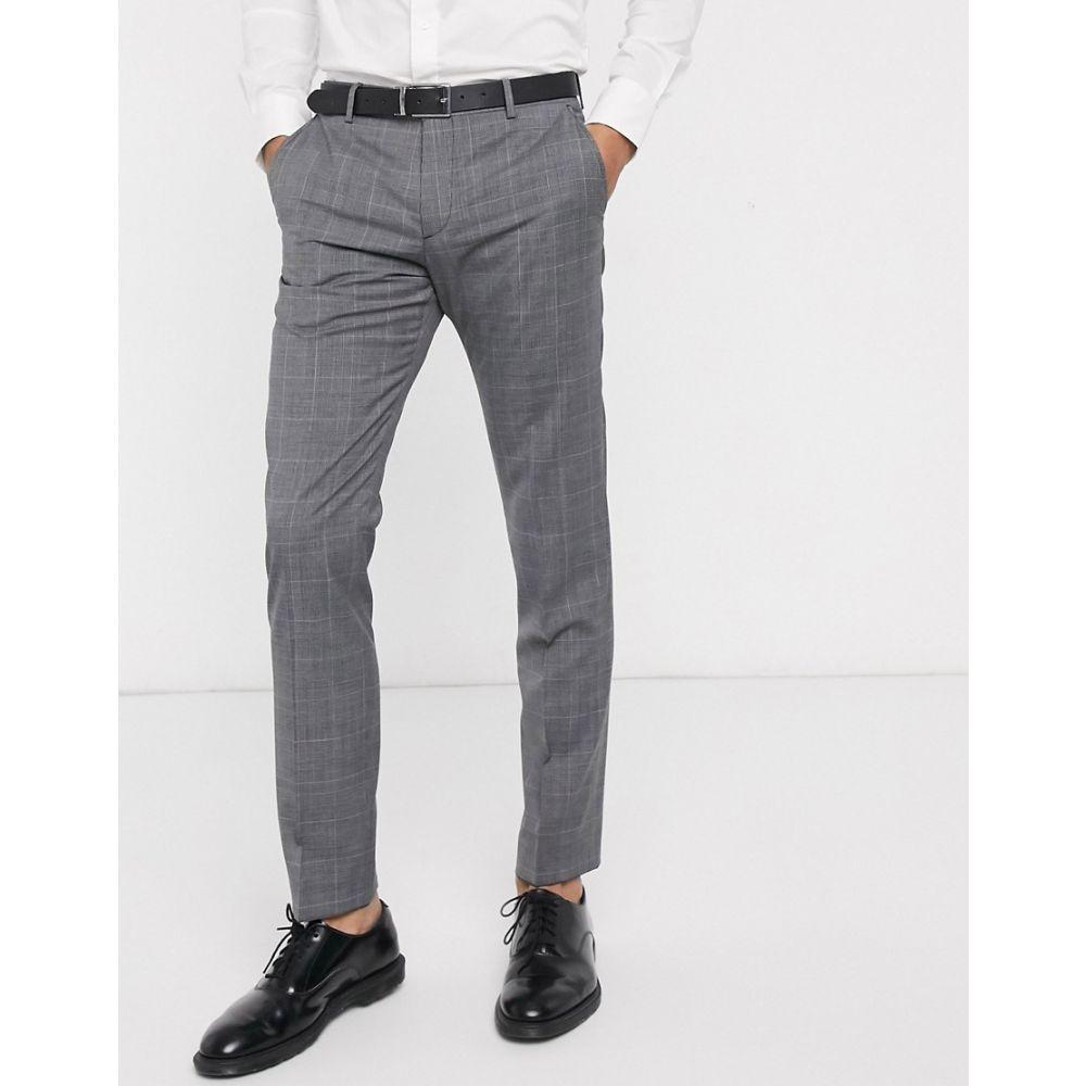 トミー ヒルフィガー Tommy Hilfiger メンズ スラックス ボトムス・パンツ【will extra slim suit trouser】Black