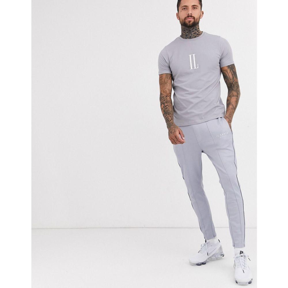 イルサルト Il Sarto メンズ ジョガーパンツ ボトムス・パンツ【logo skinny fit joggers】Grey