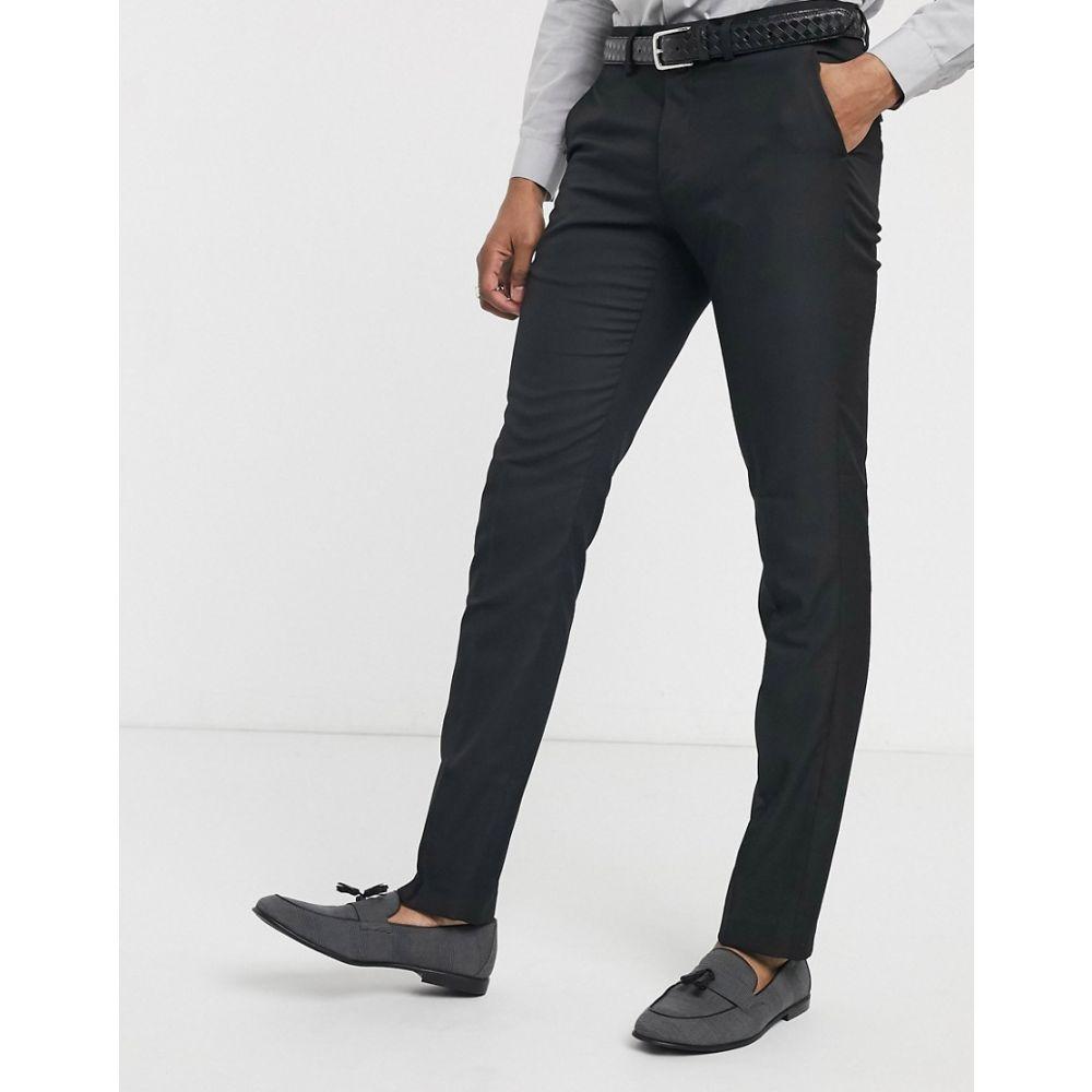セリオ Celio メンズ スラックス ボトムス・パンツ【suit trouser in black】Black
