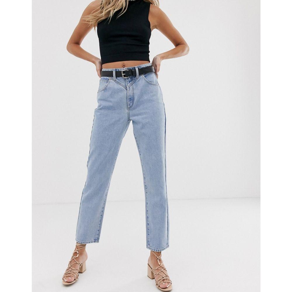 エーブランド Abrand Denim レディース ジーンズ・デニム ボトムス・パンツ【Abrand '94 high slim jeans】Walk it out