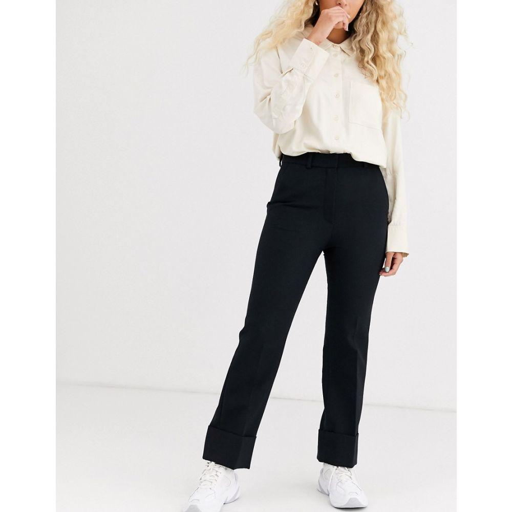 アンドアザーストーリーズ & Other Stories レディース ボトムス・パンツ タキシード【Capsule wool tuxedo trousers in black】Black