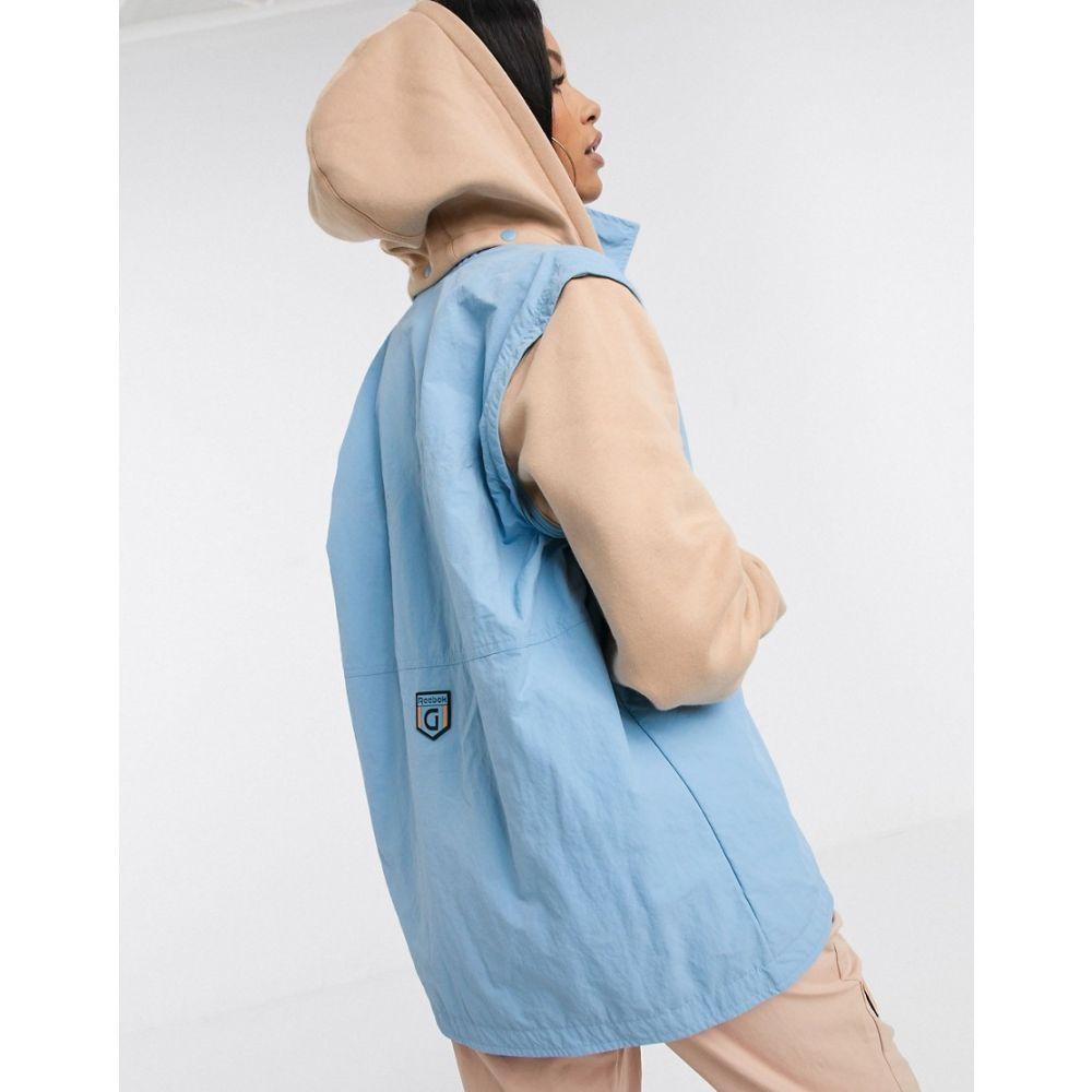 リーボック Reebok レディース ジャケット アウター【x Gigi gillet with detachable hood】Blue