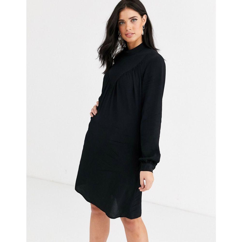 クローゼットロンドン Closet London レディース ワンピース ミニ丈 ワンピース・ドレス【Closet long sleeve mini dress】Black