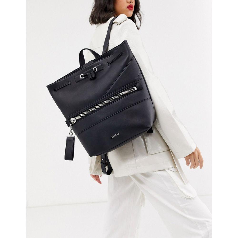 カルバンクライン Calvin Klein 贈答品 レディース 数量限定アウトレット最安価格 バックパック リュック バッグ Lucy backpack black Black in