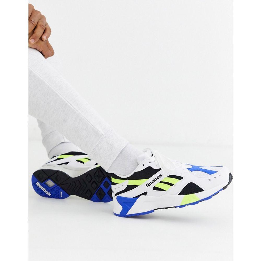 リーボック Reebok メンズ スニーカー シューズ・靴【classics aztrek trainer】White/black