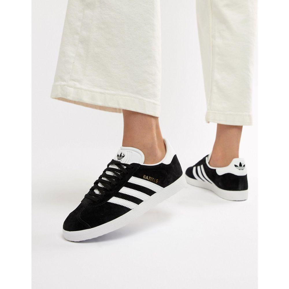アディダス adidas Originals レディース スニーカー シューズ・靴【Gazelle trainers in black】Black