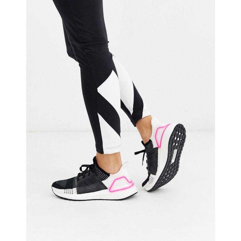 アディダス adidas performance レディース ランニング・ウォーキング シューズ・靴【adidas Running Ultraboost 19 trainers in black】Black