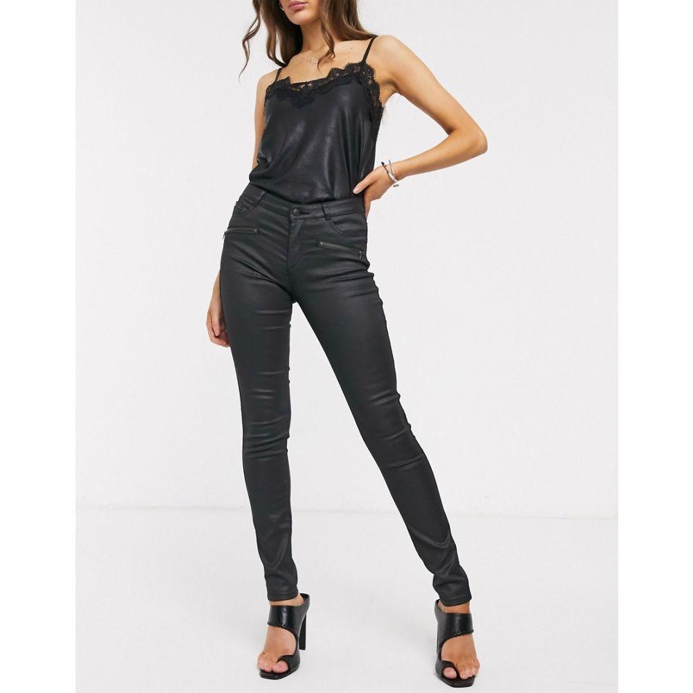 エスプリ Esprit レディース ジーンズ・デニム ボトムス・パンツ【coated skinny jeans in black】Black