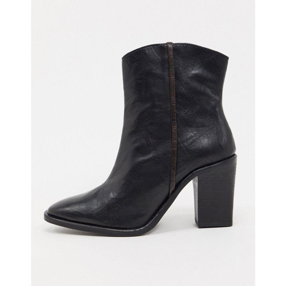 フリーピープル Free People レディース ブーツ ショートブーツ ウェスタンブーツ シューズ・靴【Barclay western ankle boots in black】Black