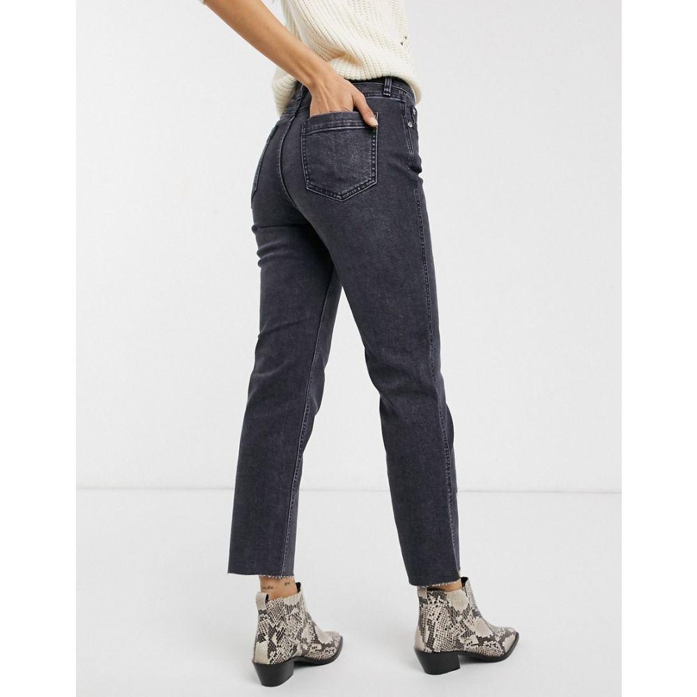 フリーピープル Free People レディース ジーンズ・デニム ボトムス・パンツ【crvy high-rise vintage jeans】Black