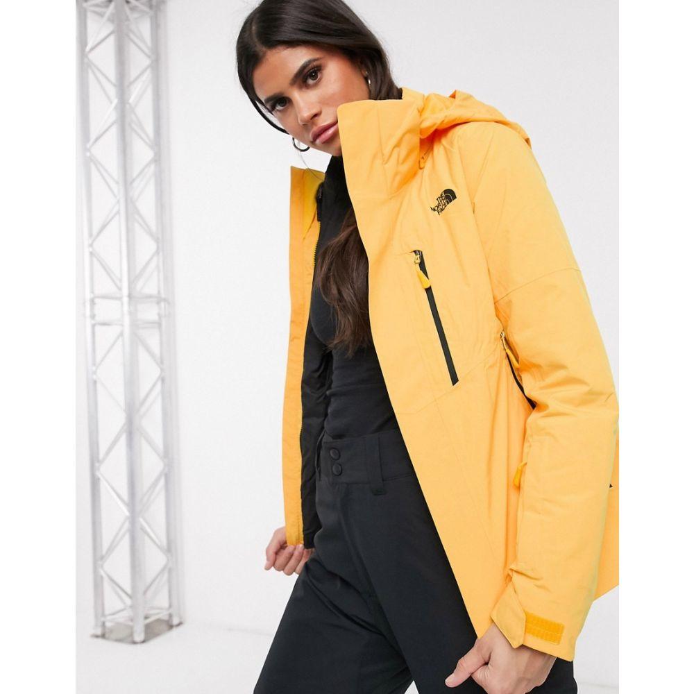 ザ ノースフェイス The North Face レディース ジャケット アウター【Garnier Triclimate jacket in yellow】Yellow