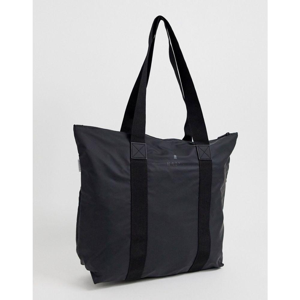 レインズ Rains レディース トートバッグ バッグ【small tote bag】Black