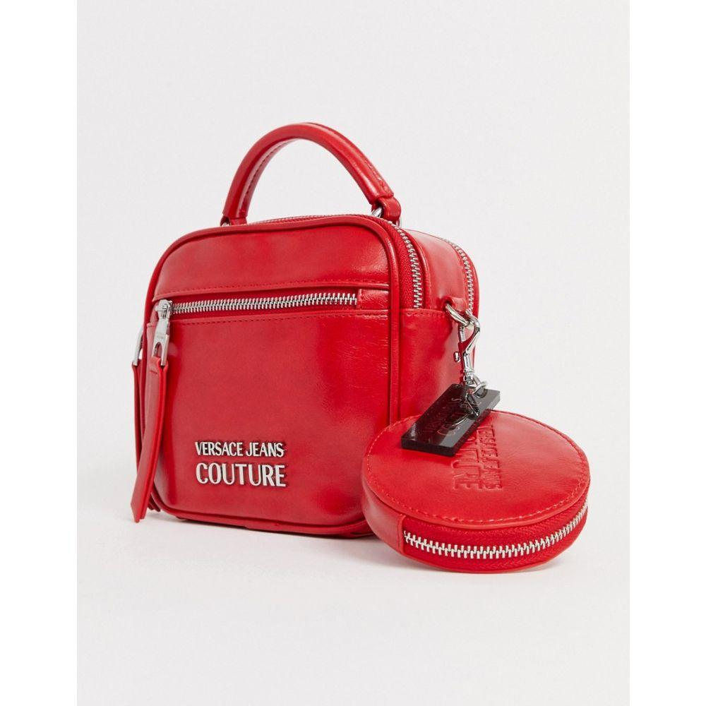 ヴェルサーチ Versace Jeans レディース バッグ 【Couture logo bag】Red