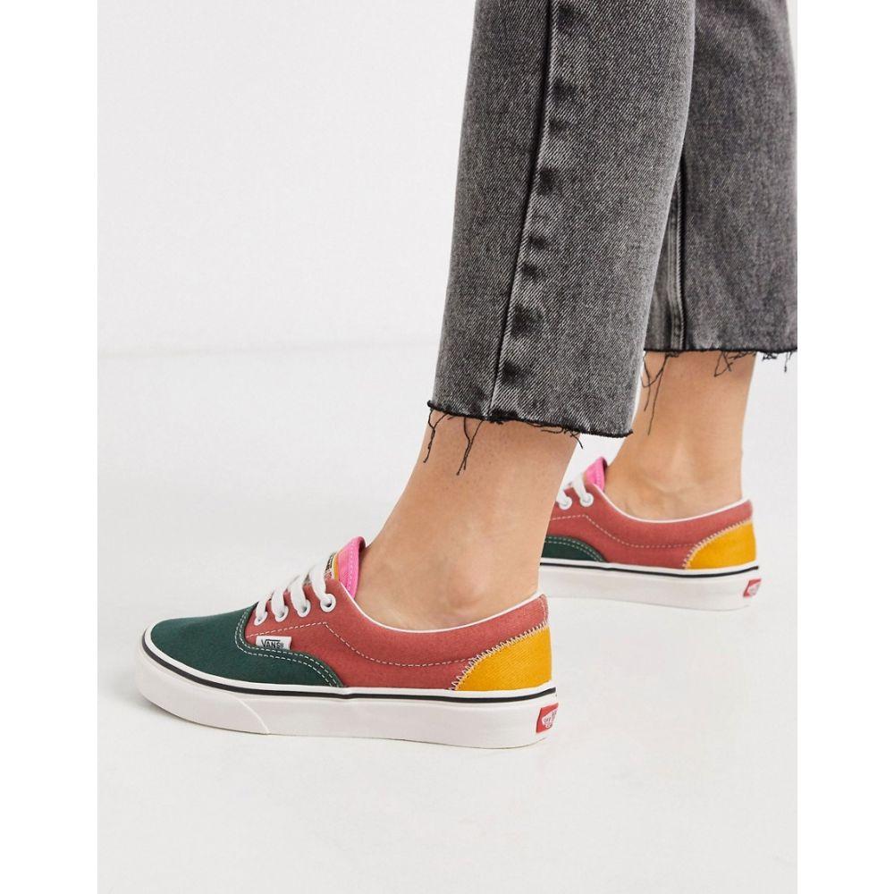 ヴァンズ Vans レディース スニーカー シューズ・靴【Era trainers in colour block】Varsity multi/blanc