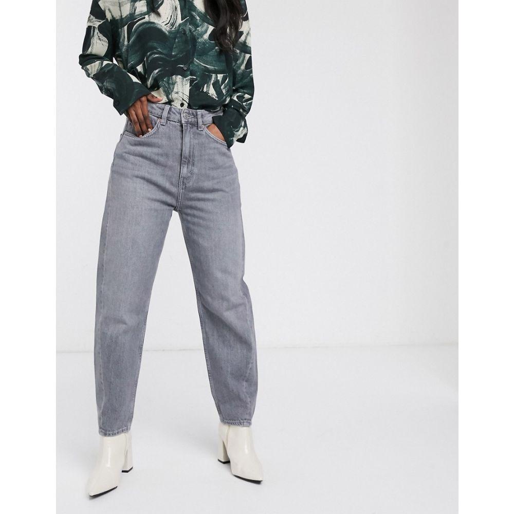 ウィークデイ Weekday レディース ジーンズ・デニム ボトムス・パンツ【Meg tapered leg jeans with twisted seam in grey】Grey
