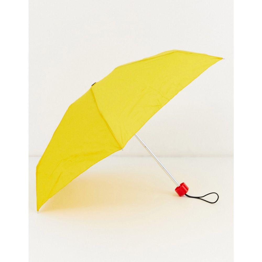 ハンター Hunter レディース 傘 【original Mini Compact Umbrella】Yellow