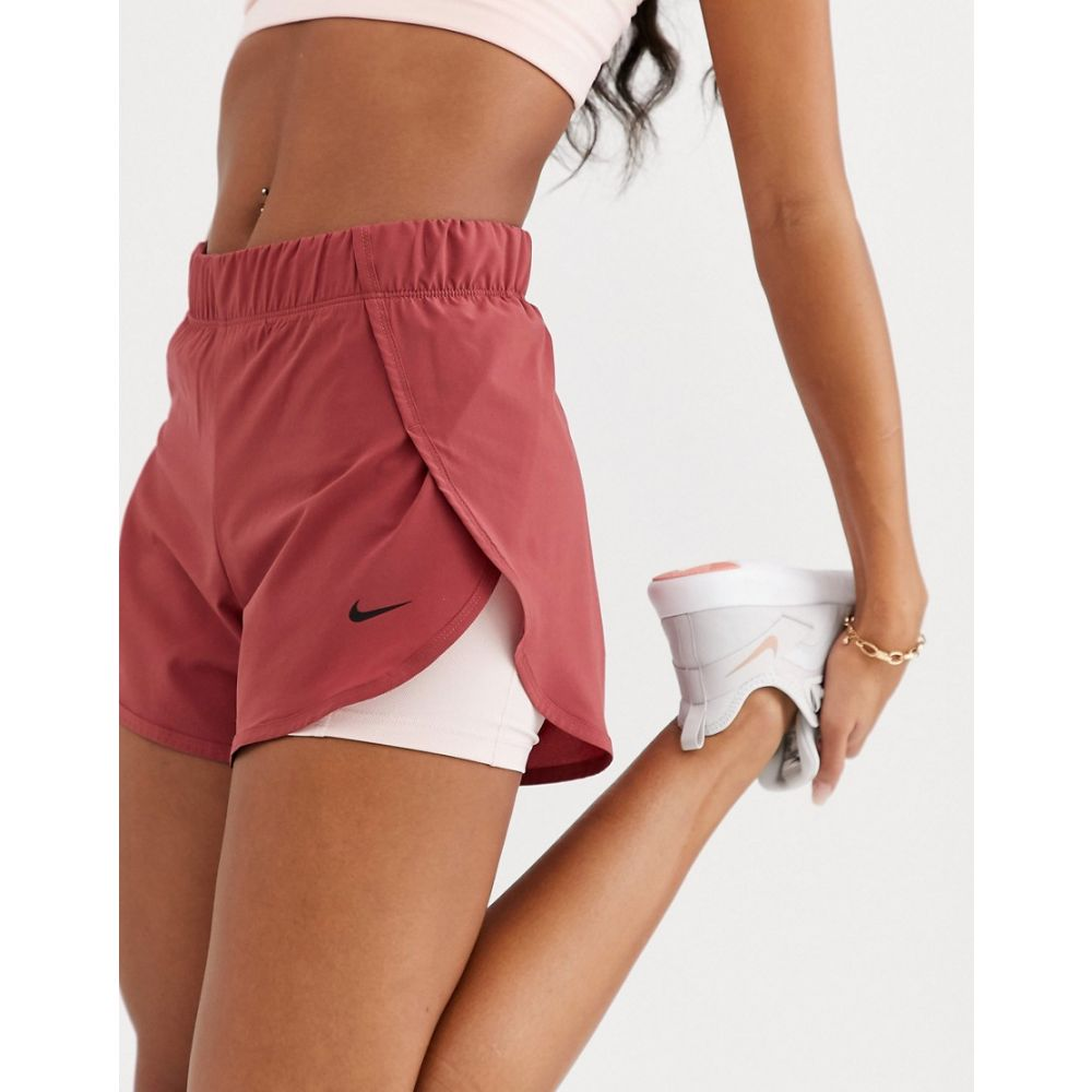 ナイキ Nike Training レディース ショートパンツ ボトムス・パンツ【2 in 1 short in pink】Pink