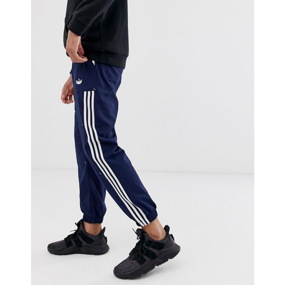 アディダス adidas Originals メンズ ジョガーパンツ ボトムス・パンツ【cargo pocket workpant in navy】Navy