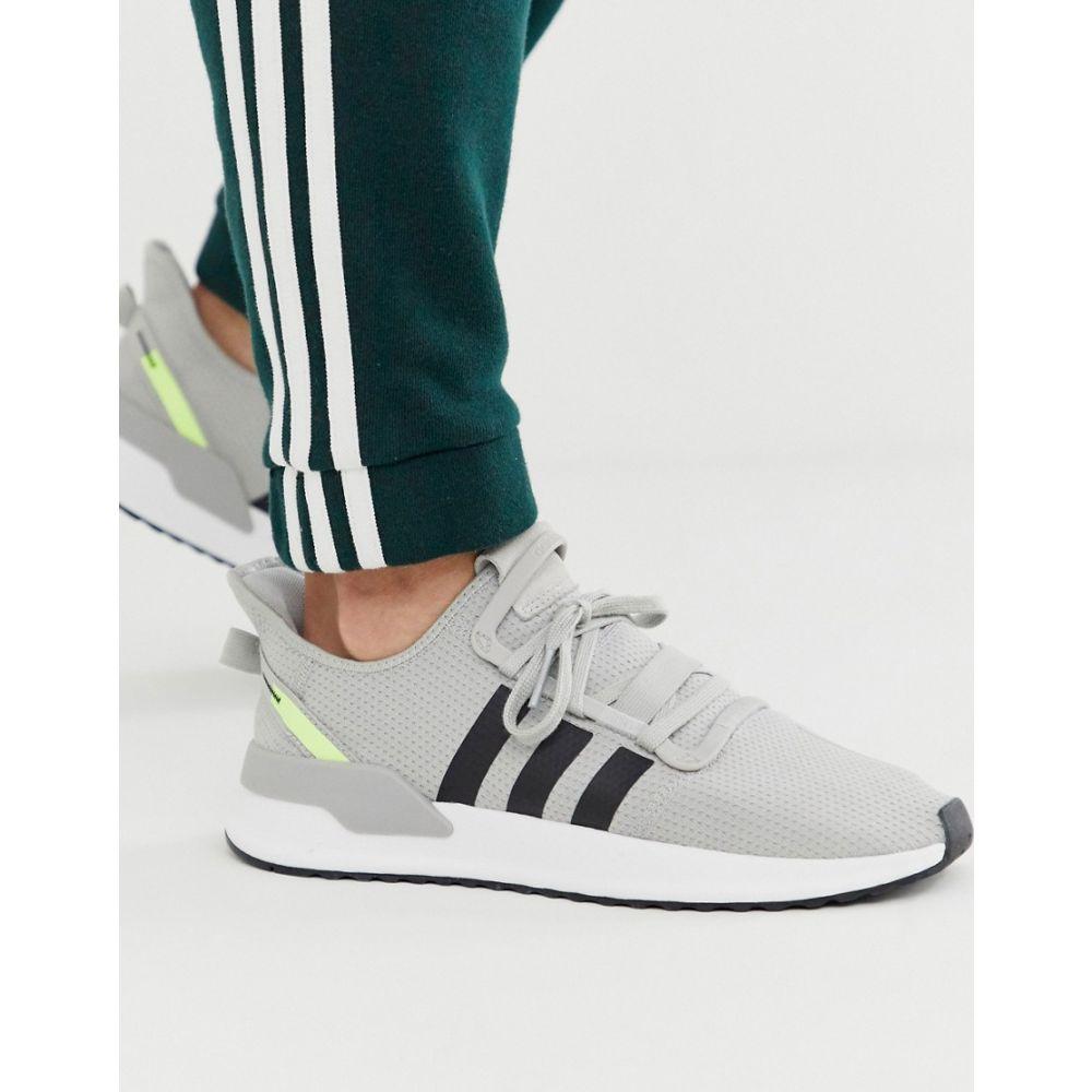 アディダス adidas Originals メンズ スニーカー シューズ・靴【U-Path Run trainers in grey】Grey