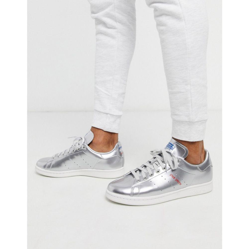 アディダス adidas Originals メンズ スニーカー スタンスミス シューズ・靴【stan smith trainers silver leather tech pack】Metallic